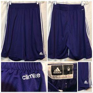 Adidas Climalite shorts size medium